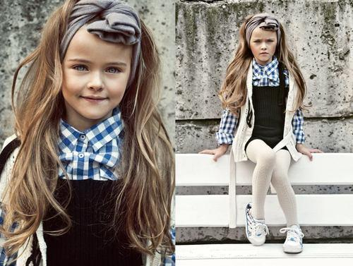 Variations, shades and combinations for kid's clothes