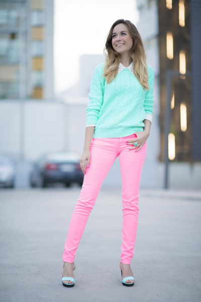 Spring 2013 Jeans of a Different Color Trends