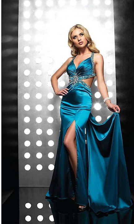 Elegant Long Prom  Evening Dresses