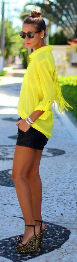 19 Yellow Fashion Trend