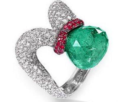 30  Beautiful Rubies, Diamonds, Emeralds