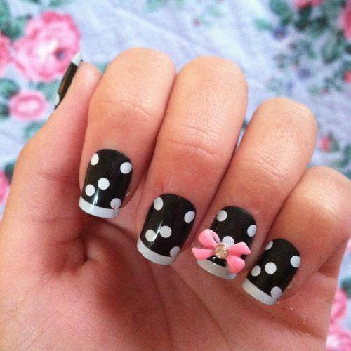 30 Funky And Trendy Nail Art Designs For 2014: 30 Trendy Nail Art