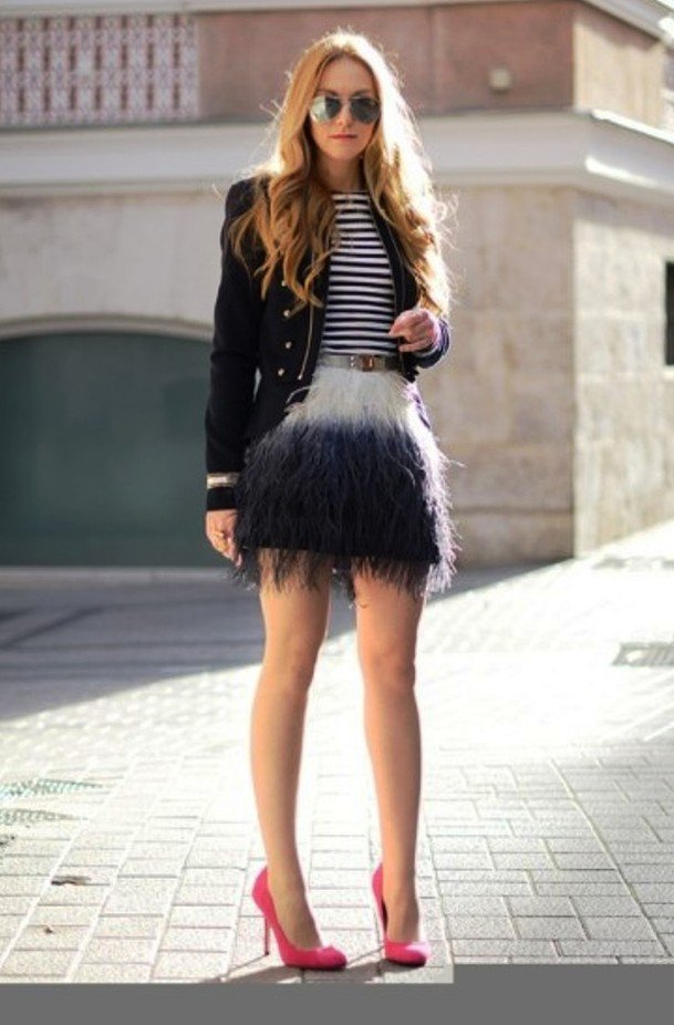 Be Attractive With Black White Fashion