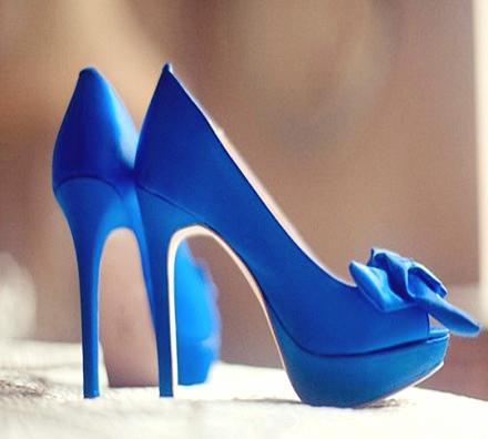 26 Blue Shoes
