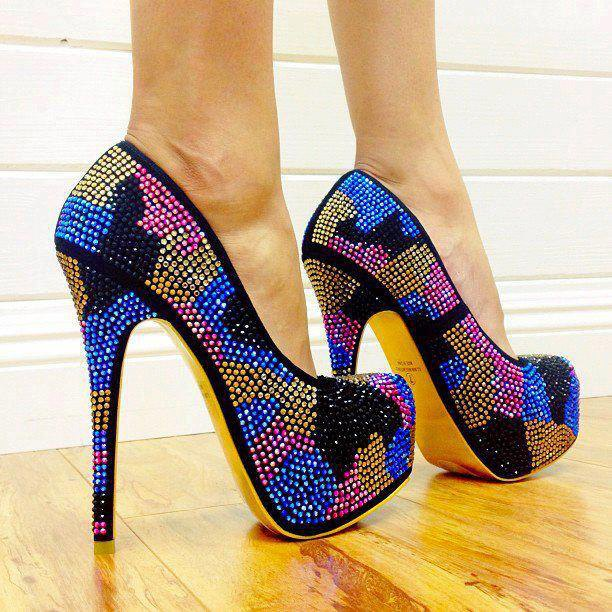 How To Style Sequined Heels Like A Pro