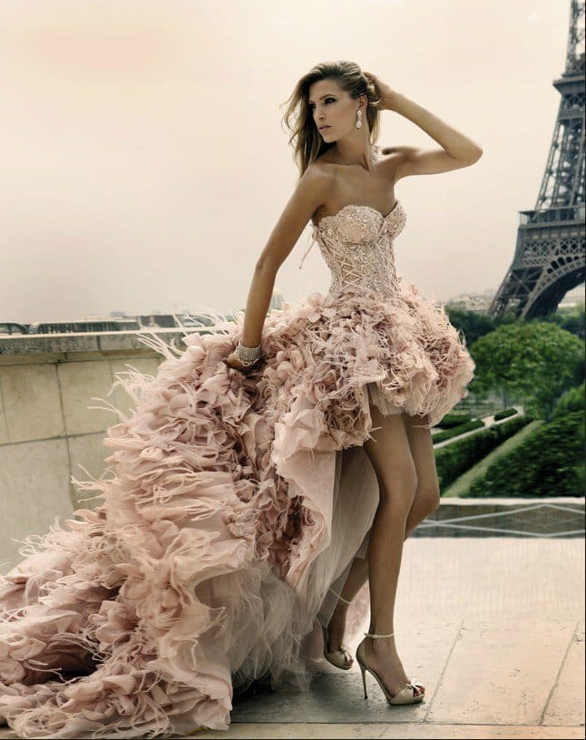 Glamorous Evening Dresses Haute Couture by Mario Sierra