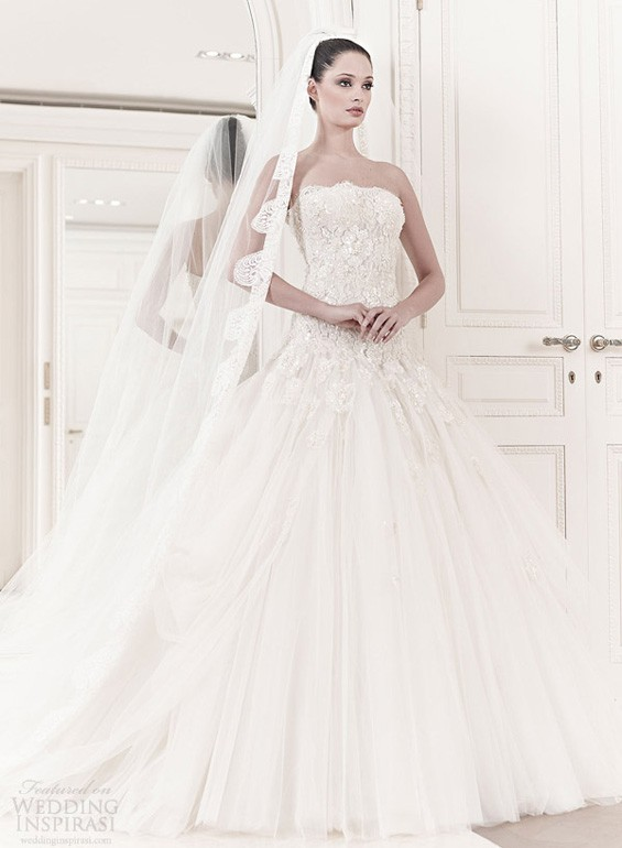 Zuhair Murad Spring Summer 2014 Wedding Dresses