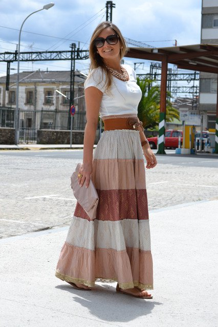 28 Trendy Long Skirt