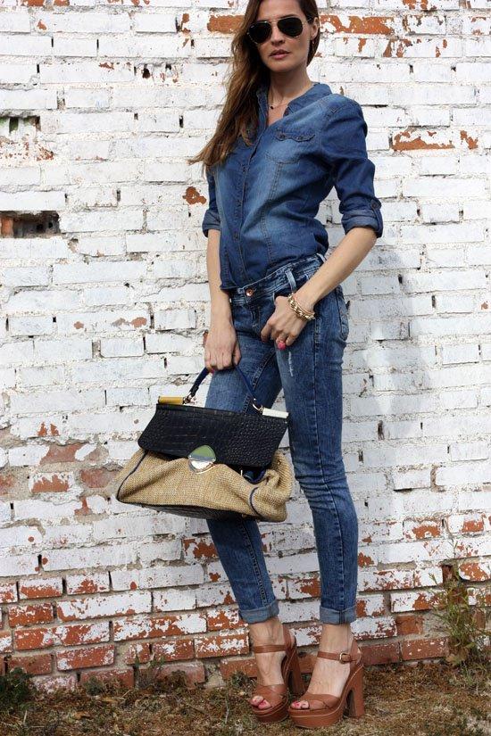 37 Street Style Obsession: Denim