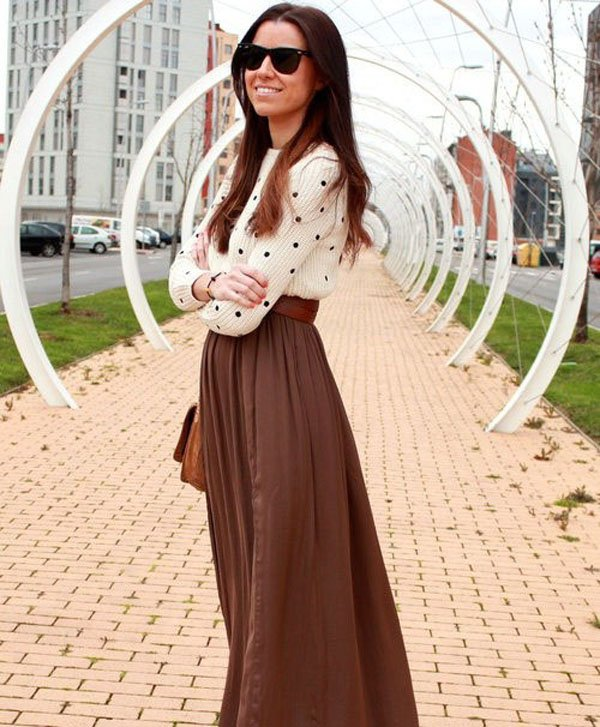48  Maxi Skirt The Best Street Style Choice For This Summer