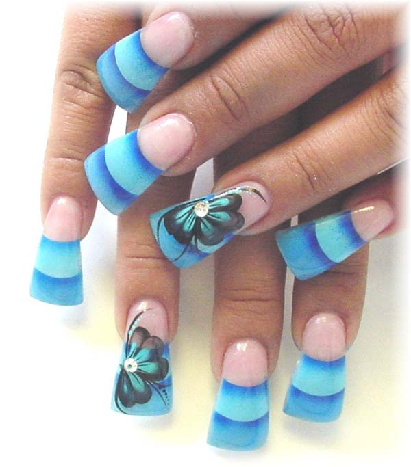 Colorful Nail Designs: 21 Beautiful And Appealing Samples Of Acrylic Nail Designs