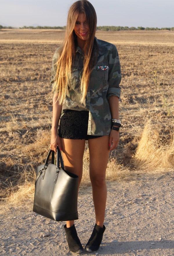24 Military clothing  fashion trend for this season