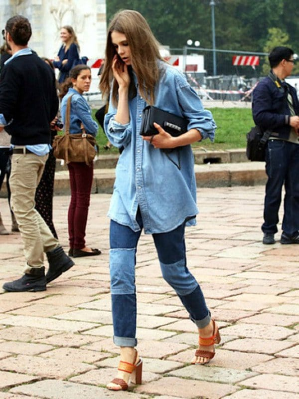 41 Womens Denim Shirt