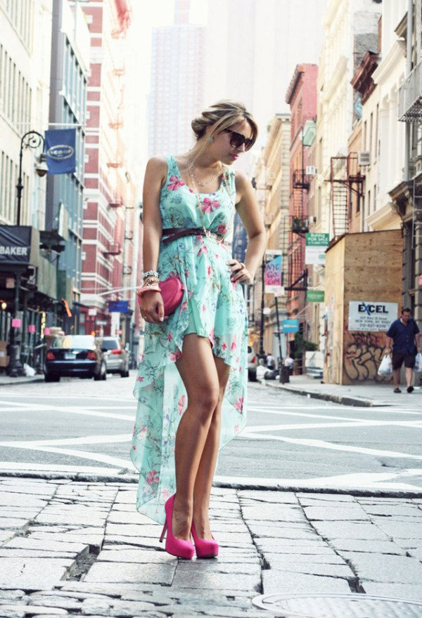 Flowers Spring and Summer Top Trendy Fashion Styles