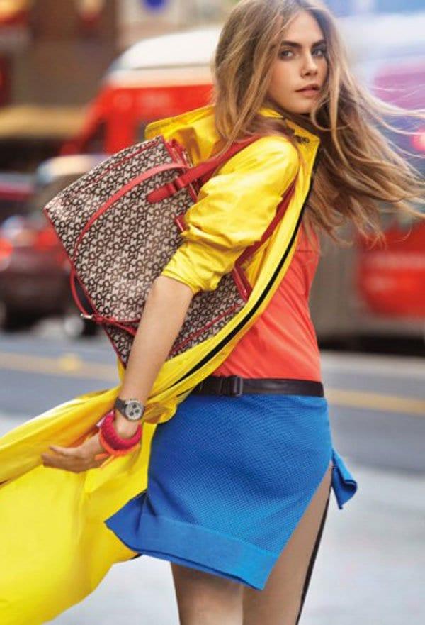 Cara Delevingne for DKNY Spring 2013 Campaign...