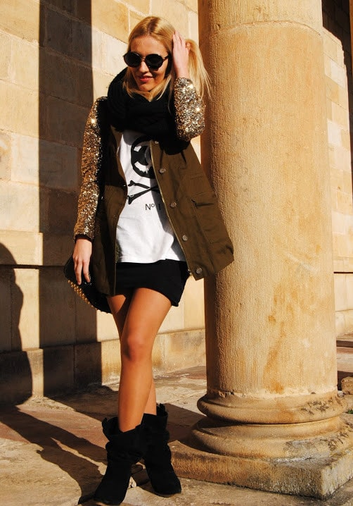 40 Beautiful Fashion Details With Silver and Gold Colors For This Fall