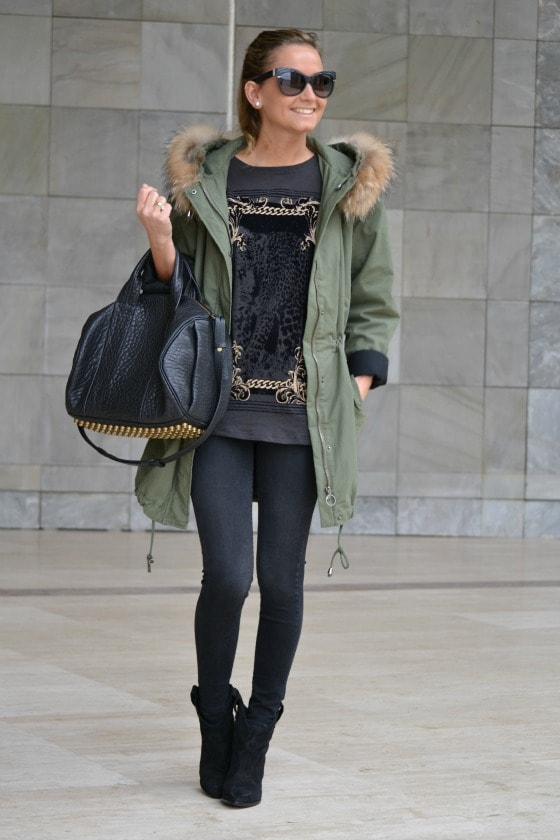 Green (military colour ) Also Trendy This Fall