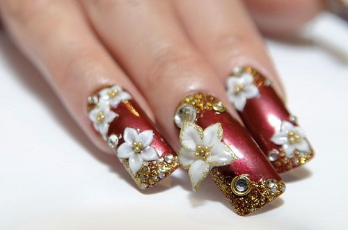 25 Unique  Nail Designs Photos