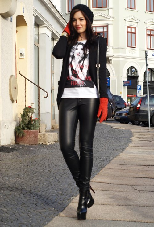 20 Women Leather Pants Trend For This Season