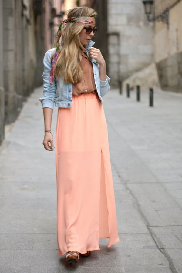 30 Beautiful Maxi Skirt For This Fall