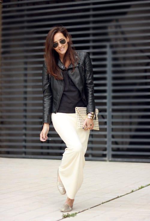 30  Trendy Black Leather Jacket