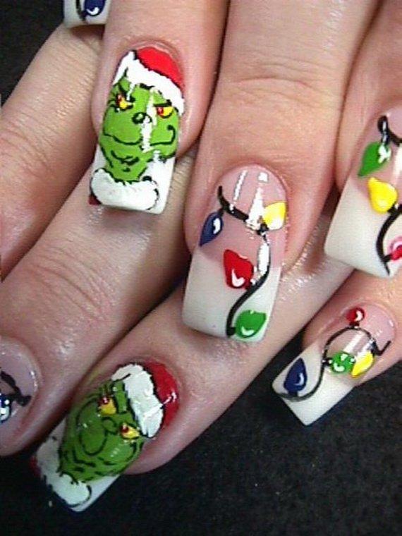30 Christmas Nails