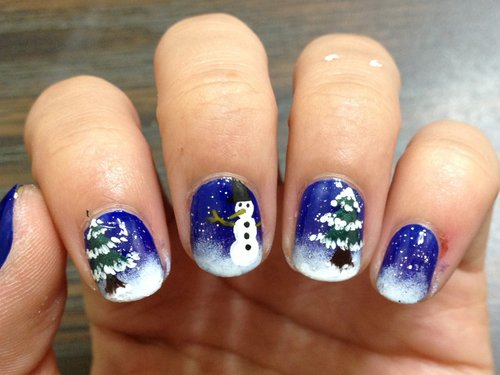 27 Christmas Nail Design