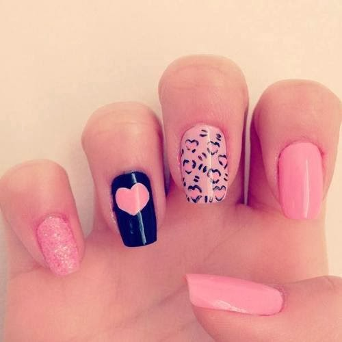 24 Beautiful and Attractive Nail Art