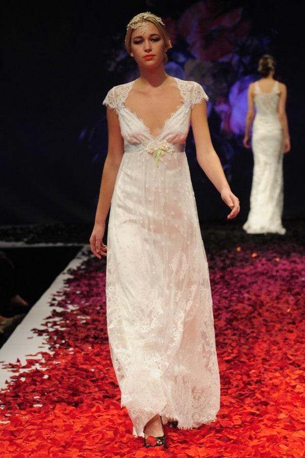 The Claire Pettibone Fall 2014 Bridal Collection is a Work of Art