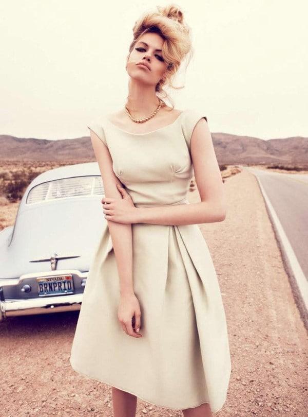 Hailey Clauson by Nicole Bentley for Vogue Australia