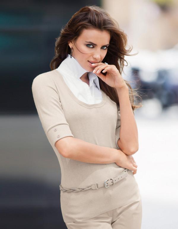 Irina Shayk for Madeleine
