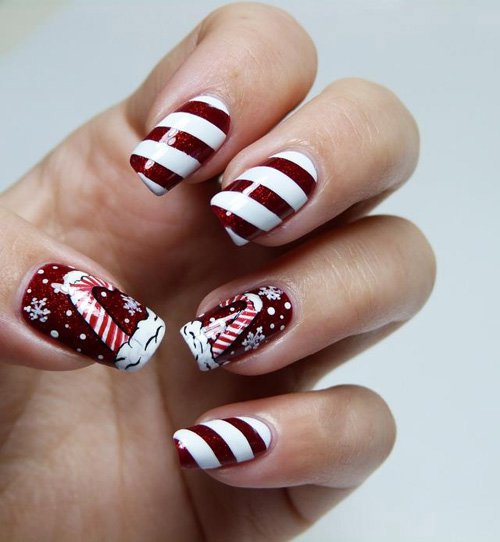 26 New Years Eve Brilliant Nail Art Designs - 26 New Year's Eve Brilliant Nail Art Designs