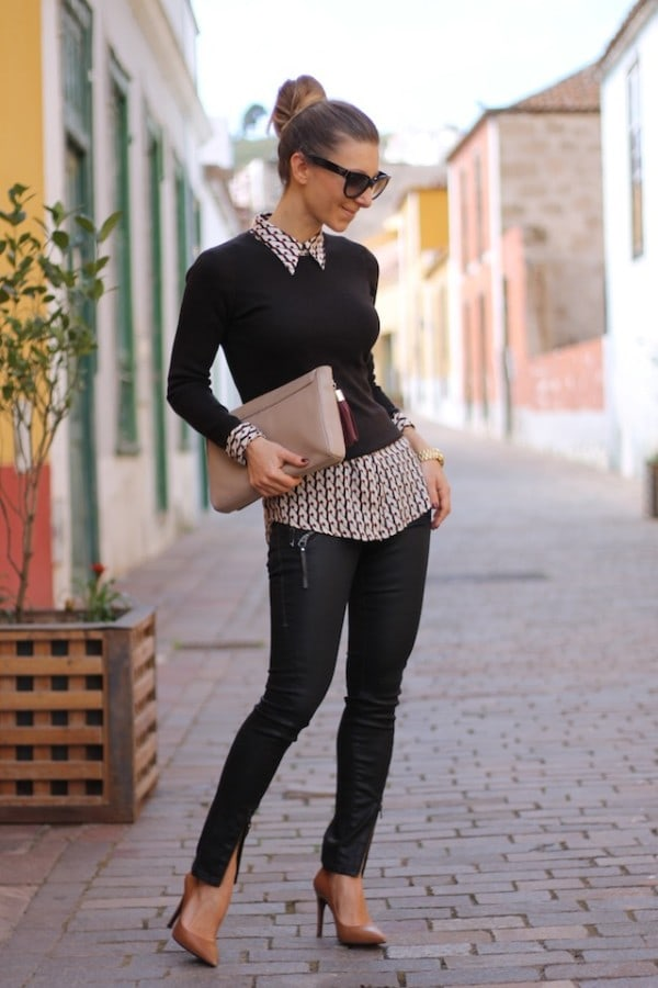 25 Adorable Street Style Fashion Combinations