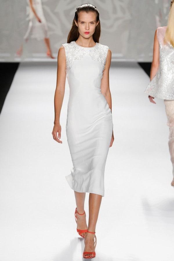 Monique Lhuillier S/S 2014 NYFW