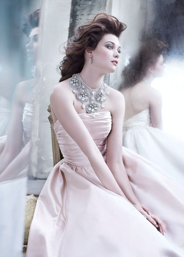 Lazaro Bridal Gowns Collections