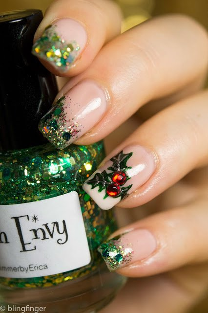 20 Unique Nail Art Ideas and Designs for New Years Eve