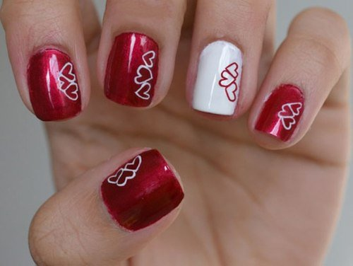 20 Pretty Nail Designs For Valentines Day