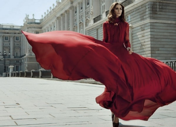 16 Beautiful Dresses With The Color Of Love For Valentines Day