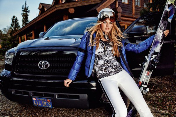 Romee Strijd Takes a Ski Trip for Goldbergh Winter 2014