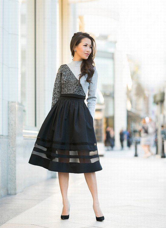 21 Fashionable Casual Combinations With Skirts and Dress For This Season