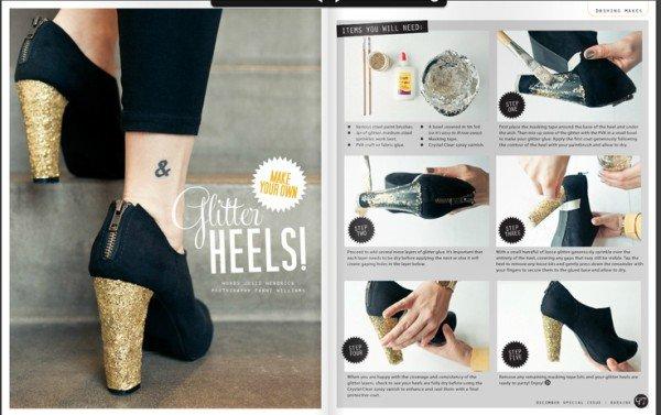14 Fashionable DIY Heels Ideas