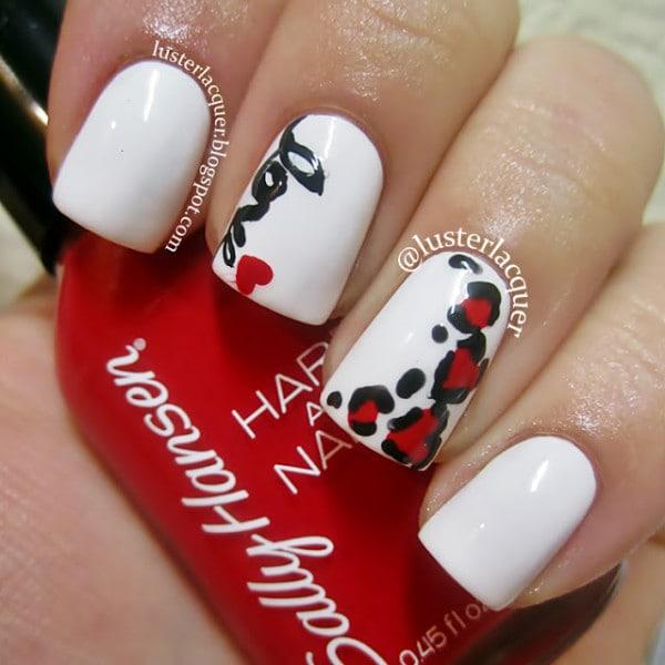 10 Perfect Valentines Day Nail Art Idea