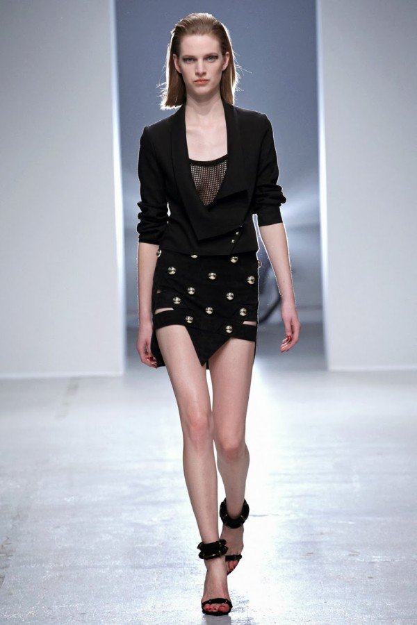Anthony Vaccarello S/S 2014 PFW
