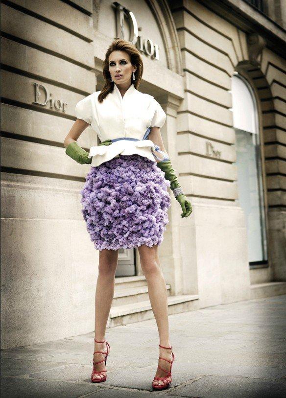 DIOR   Glamour Evening Dress