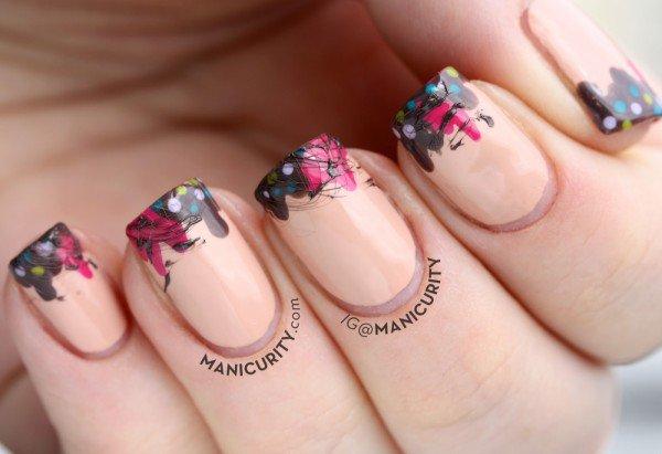 Unusual And Creative Nails Art Idea For Stylish Girls