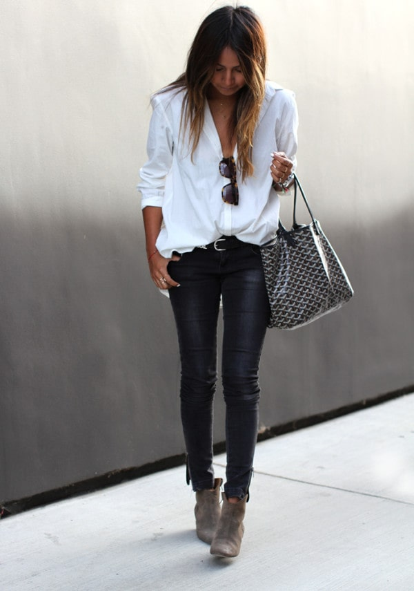 25 Fashionable Street Style Combinations For This  Season