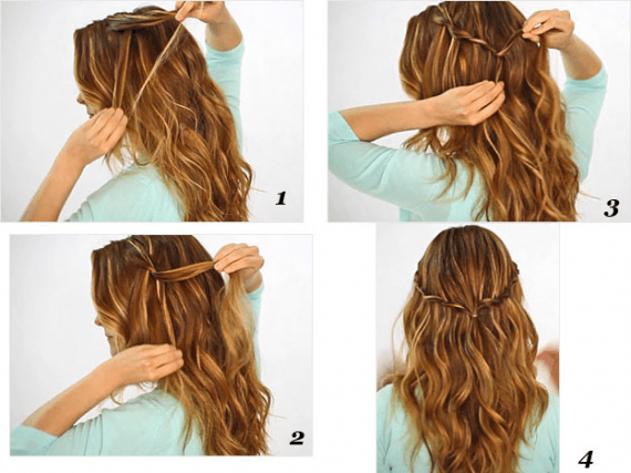 17 Quick And Easy Diy Hairstyle Tutorials