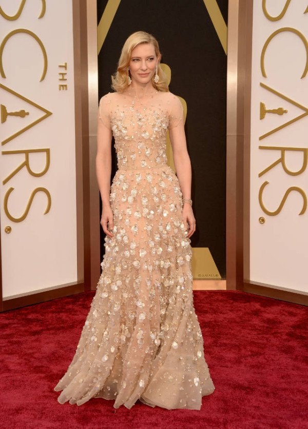 Oscars 2014 Red Carpet See All The Stunning Gowns From