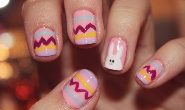 19 Best Easter Nail Art Designs For Your Inspiration