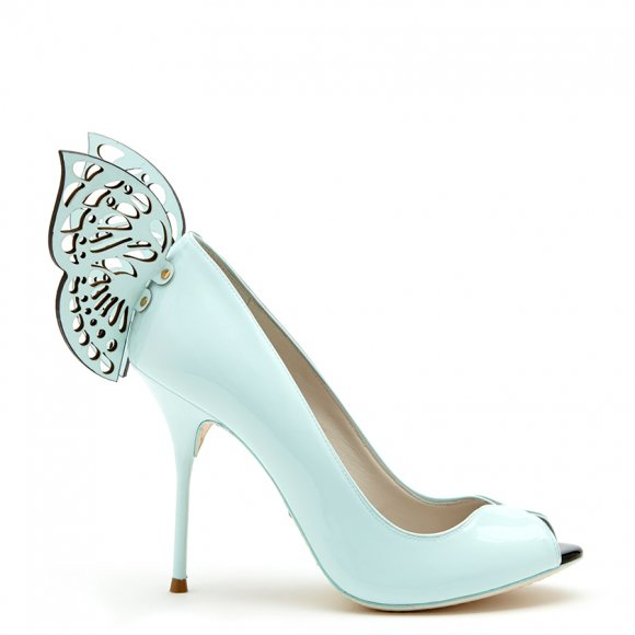 Cute Collection Of Footwear With Butterflies By Sophia Webster